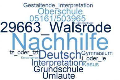 Deutsch Nachhilfe Walsrode