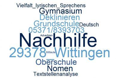 Deutsch Nachhilfe Wittingen