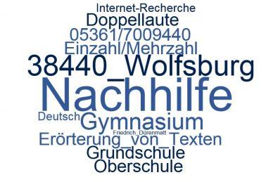 Deutsch Nachhilfe Wolfsburg