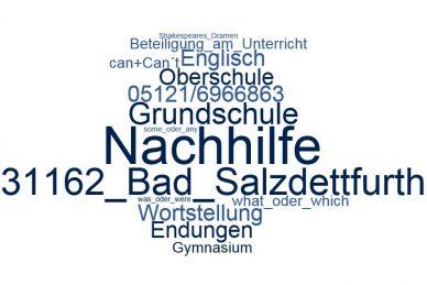 Englisch Nachhilfe Bad Salzdetfurth