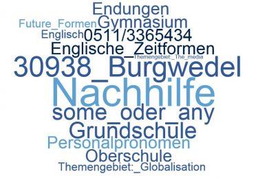 Englisch Nachhilfe Burgwedel
