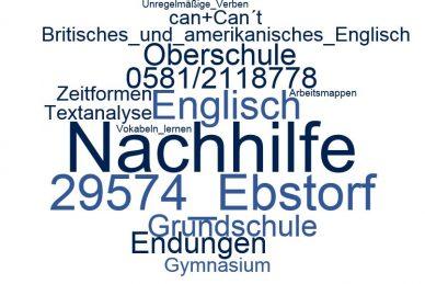 Englisch Nachhilfe Ebstorf