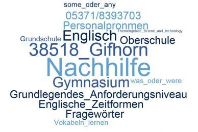 Englisch Nachhilfe Gifhorn