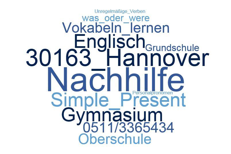 Englisch Nachhilfe Hannover - Nachhilfe beim Schüler