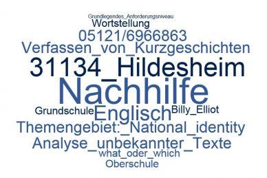 Englisch Nachhilfe Hildesheim