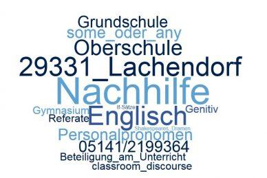 Englisch Nachhilfe Lachendorf