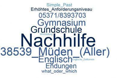Englisch Nachhilfe Müden (Aller)