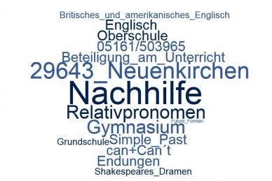 Englisch Nachhilfe Neuenkirchen