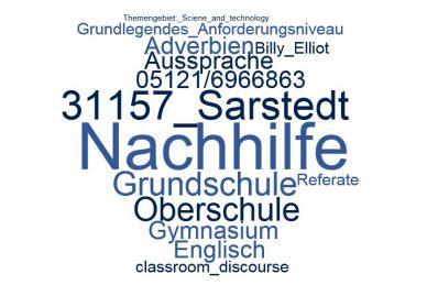 Englisch Nachhilfe Sarstedt