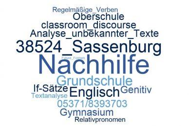 Englisch Nachhilfe Sassenburg
