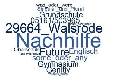 Englisch Nachhilfe Walsrode