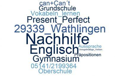 Englisch Nachhilfe Wathlingen