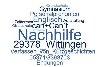 Englisch Nachhilfe Wittingen