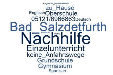 Nachhilfe Bad Salzdetfurth