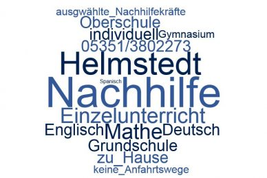 Nachhilfe Helmstedt