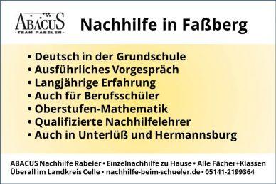 Nachhilfe in Faßberg