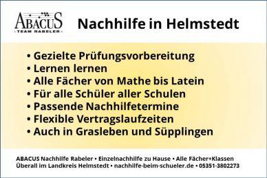 Nachhilfe in Helmstedt