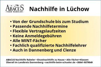 Nachhilfe in Lüchow