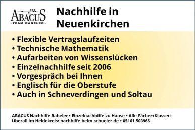 Nachhilfe in Neuenkirchen