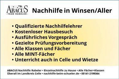 Nachhilfe in Winsen/Aller