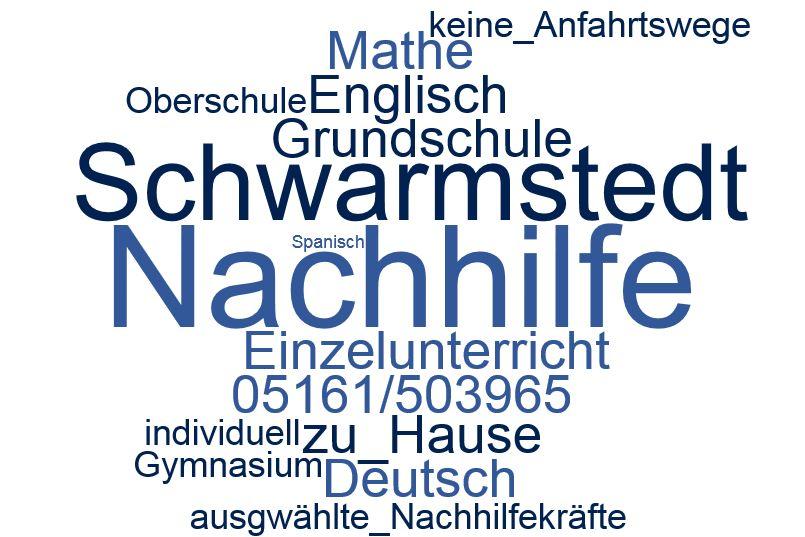 Nachhilfe Schwarmstedt - Nachhilfe beim Schüler