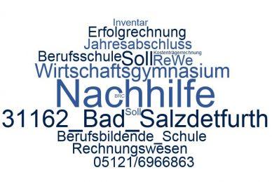 Rechnungswesen Nachhilfe Bad Salzdetfurth