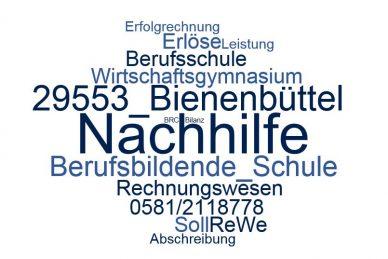 Rechnungswesen Nachhilfe Bienenbüttel