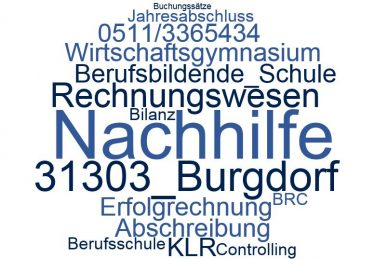 Rechnungswesen Nachhilfe Burgdorf