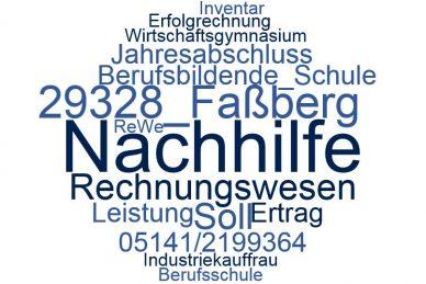 Rechnungswesen Nachhilfe Faßberg
