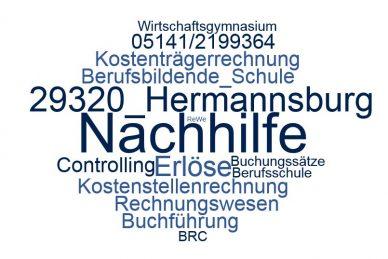 Rechnungswesen Nachhilfe Hermannsburg
