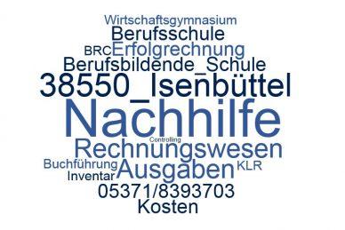 Rechnungswesen Nachhilfe Isenbüttel