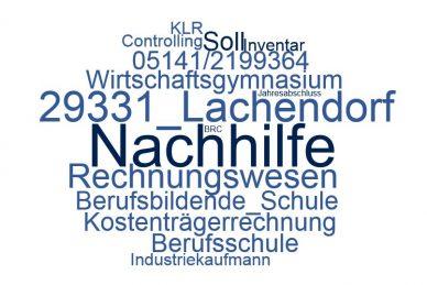 Rechnungswesen Nachhilfe Lachendorf