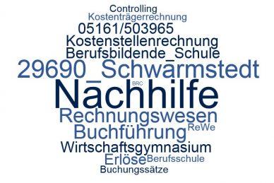 Rechnungswesen Nachhilfe Schwarmstedt