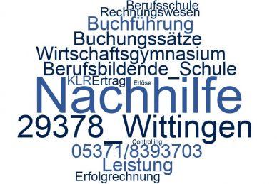 Rechnungswesen Nachhilfe Wittingen