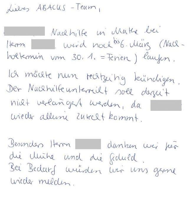 Erfolgreiche Mathe Nachhilfe 8. Klasse Gymnasium Hannover