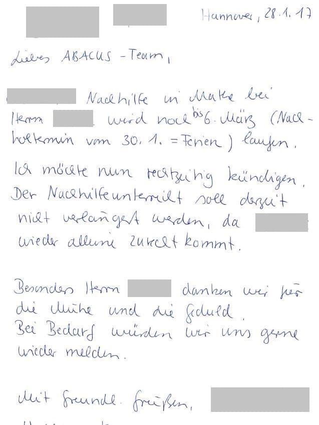 Erfolgreiche Mathe Nachhilfe 8. Klasse Gymnasium Hannover ...